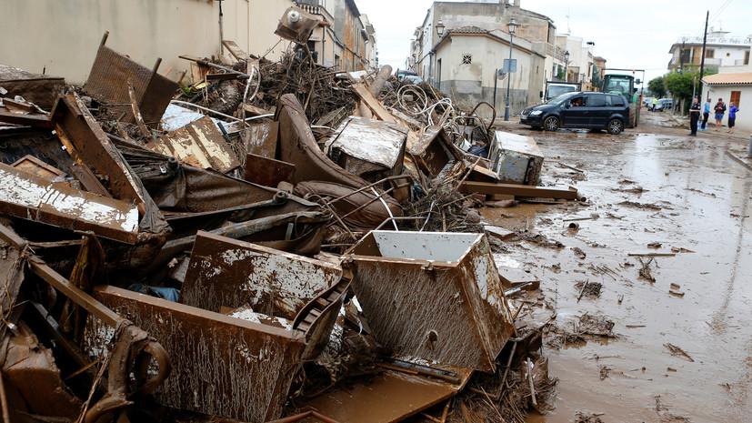На Майорке ищут троих пропавших без вести после наводнения