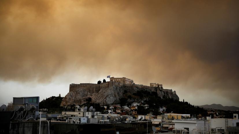 В Греции из-за забастовок работников Минкульта закрыли Акрополь