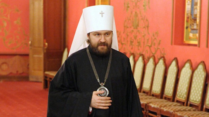 Митрополит Иларион надеется на отсутствие поспешных решений по автокефалии для Украины