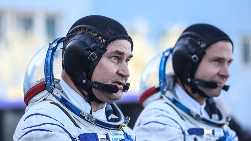 Жена космонавта Овчинина рассказала о самочувствии супруга