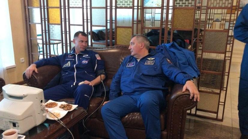 Рогозин рассказал о состоянии Овчинина и Хейга