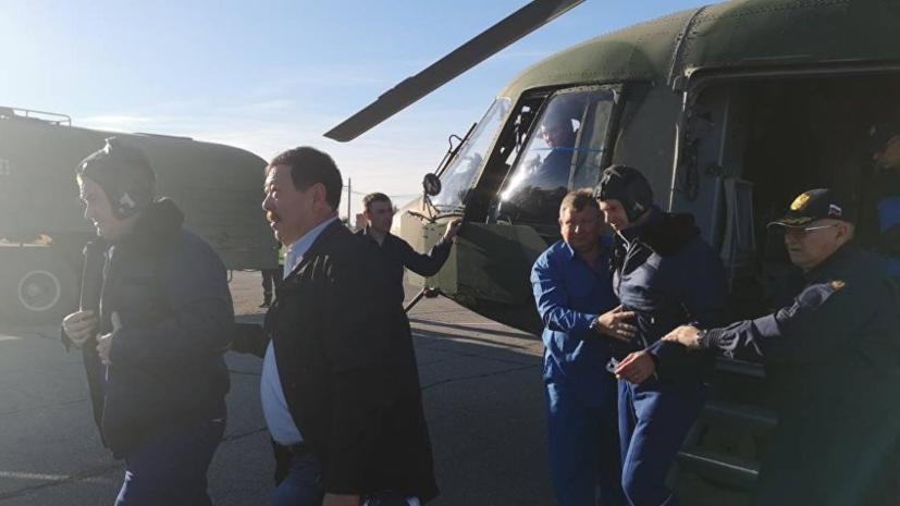 Жена космонавта Овчинина узнала об инциденте с «Союзом МС-10» от соседей