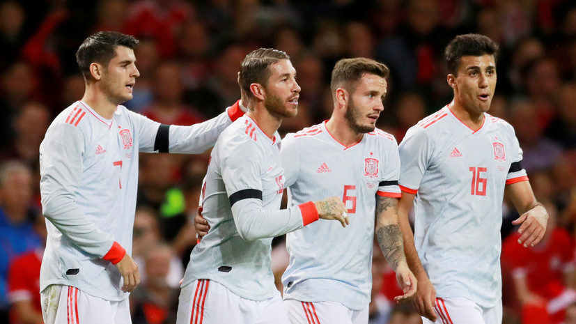 Сборная испании по футболу товарищеский матч