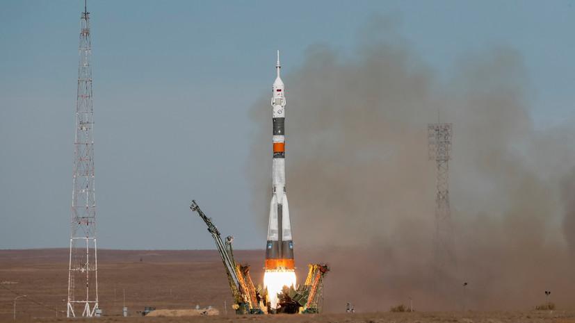 «Столкновение одного из боковых элементов»: в «Роскосмосе» назвали возможную причину аварии «Союза МС-10»