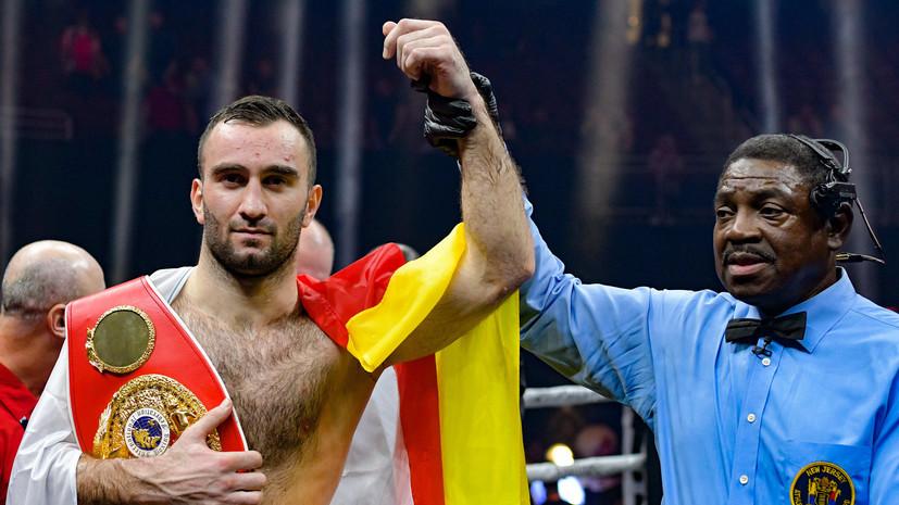 Федерация бокса России поздравила Гассиева с 25-летием