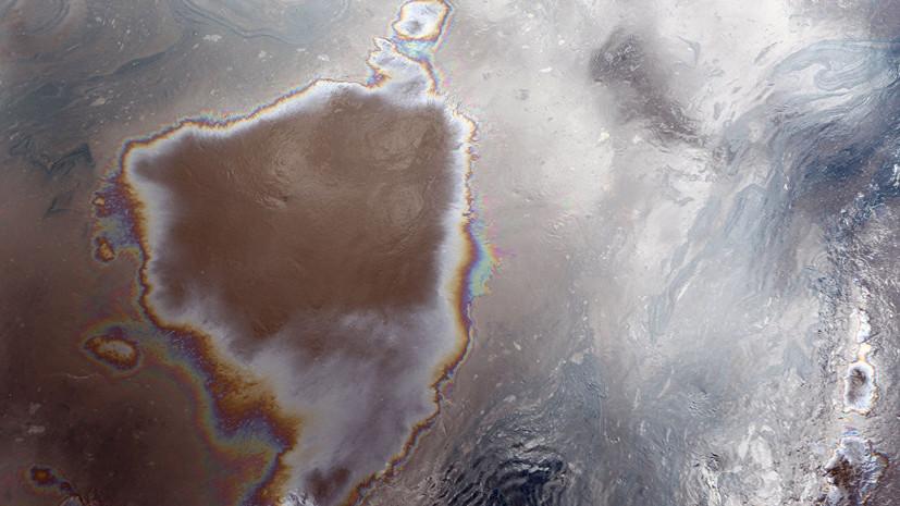 В Хабаровском крае проводят проверку обстоятельств крупного разлива нефтепродуктов