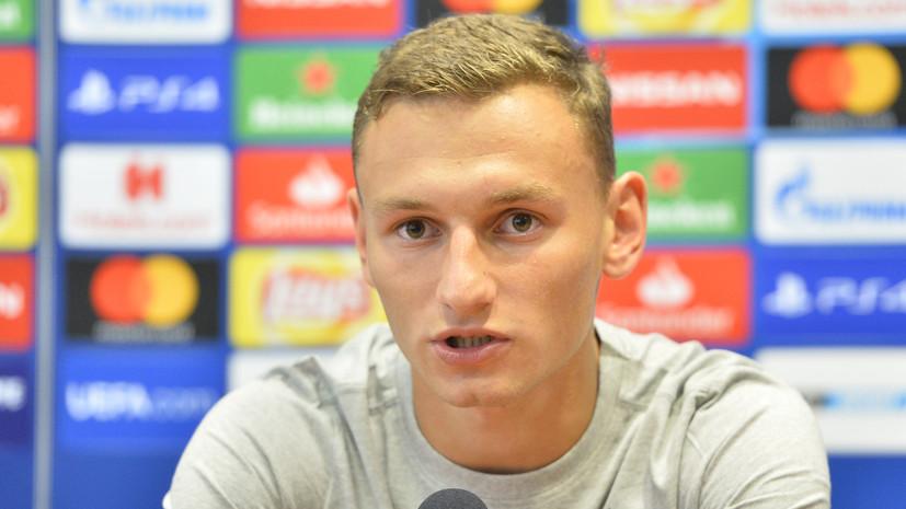 Чалов вошёл в стартовый состав молодёжной сборной России на матч с Македонией