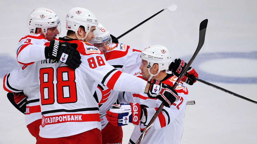 «Автомобилист» продлил свою победную серию до 17 матчей, обыграв «Сибирь» в матче КХЛ