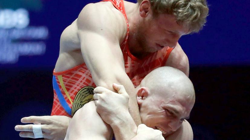 Россиянин Евлоев стал бронзовым призёром в греко-римской борьбе на юношеских ОИ