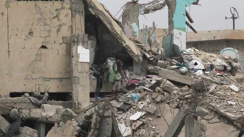 СМИ: Несколько жителей Дейр эз-Зора погибли при авиаударе коалиции