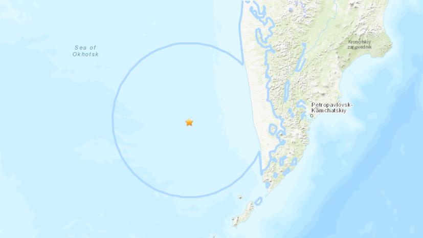 У Курильских островов произошло землетрясение магнитудой 6,7