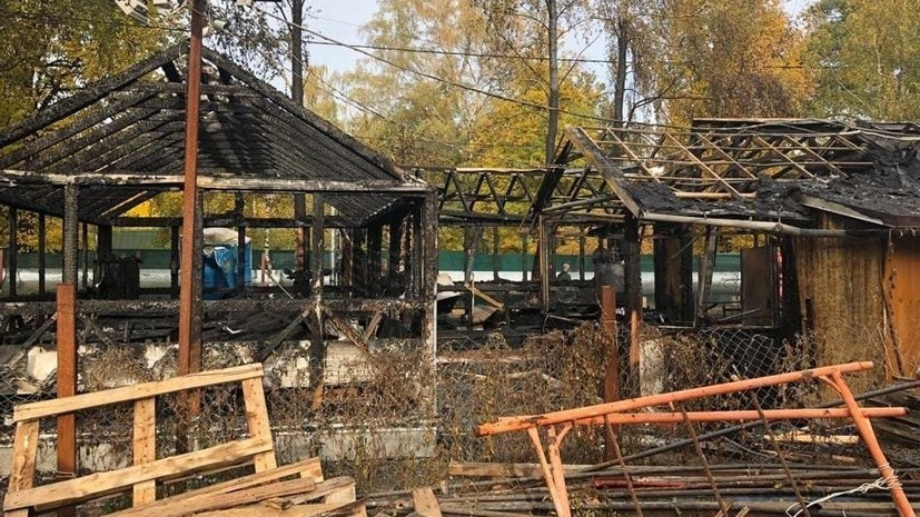 В Москве возбудили дело по факту поджога храма