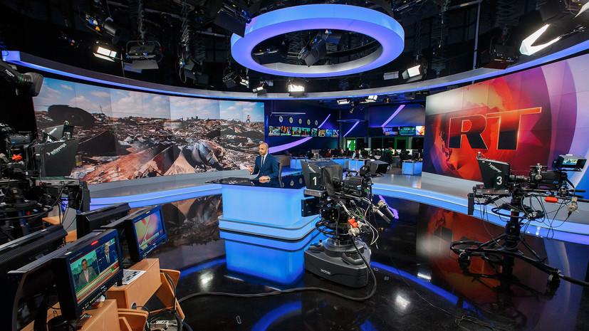RT исключили из двух сетей вещания в США