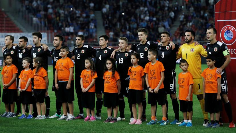 Сборная Гибралтара по футболу одержала первую в истории победу в официальном матче
