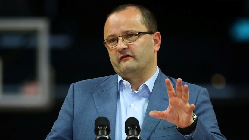 Умер генсек FIBA Бауманн