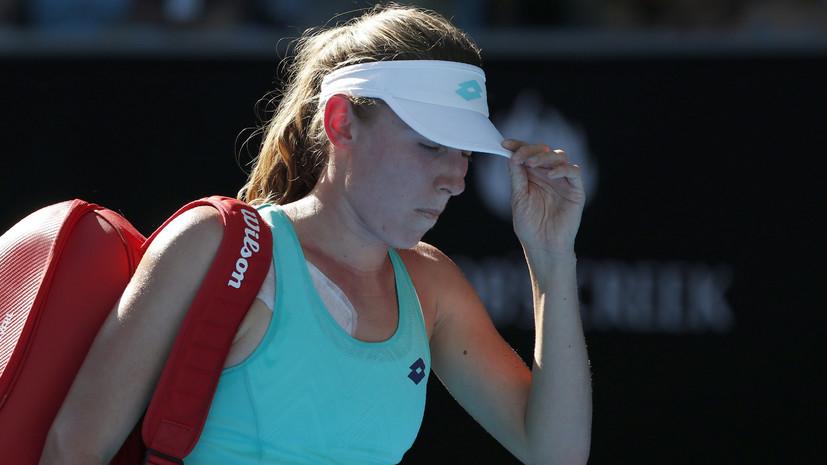 Александрова проиграла Джорджи в финале турнира WTA в Линце