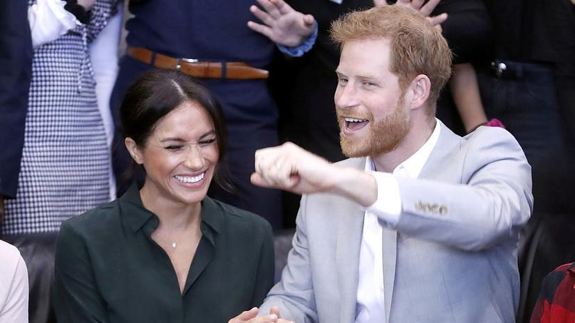 Тереза Мэй поздравила принца Гарри и Меган Маркл с новостью об ожидании ребёнка
