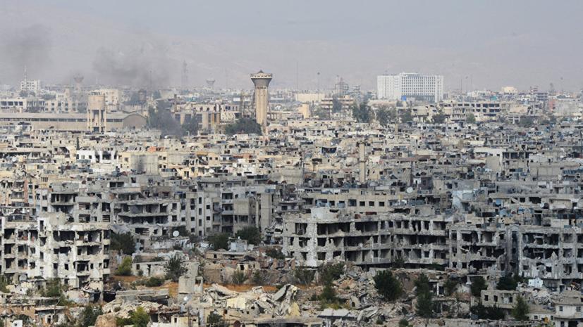 Делегация из Крыма прибыла в Дамаск