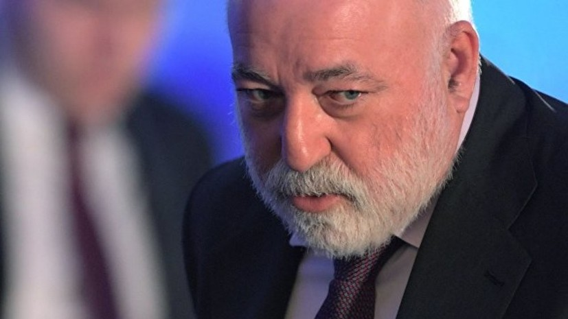 Вексельберг заявил о намерении обжаловать санкции США