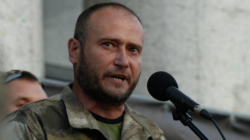 Ярош отозвал два нацбатальона с передовой в Донбассе