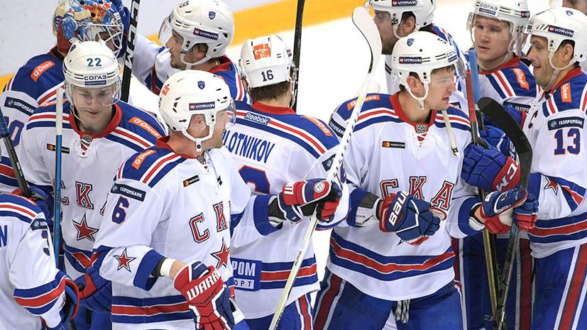 Шайба Якупова в овертайме принесла СКА победу над «Спартаком» в матче КХЛ