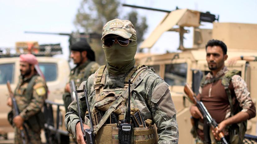 Минобороны России: проамериканские силы имитируют борьбу с ИГ на юге Дейр эз-Зора
