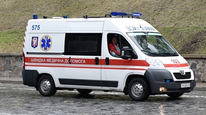 На Украине три человека погибли в результате столкновения двух локомотивов