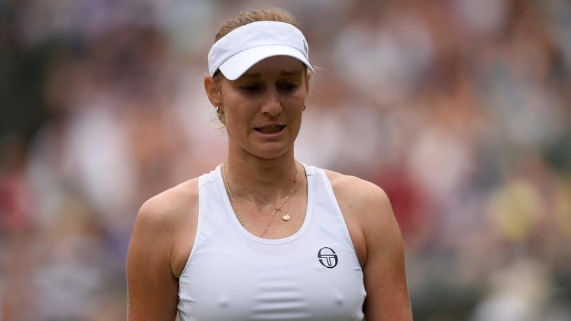 Макарова проиграла Жабер в первом круге теннисного Кубка Кремля