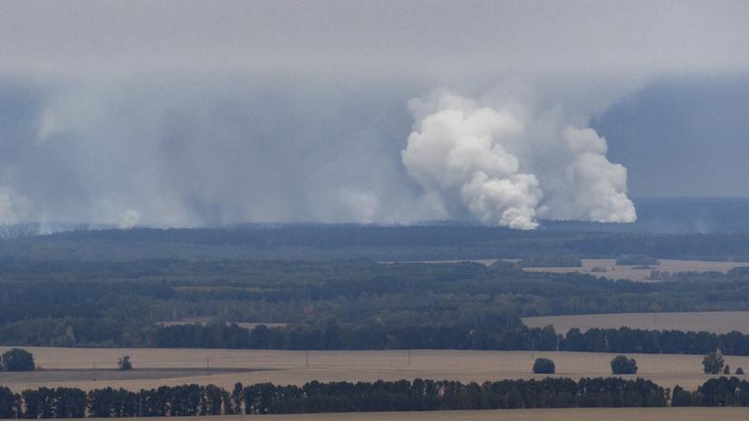 По факту взрывов на украинском арсенале допросили сотни военных