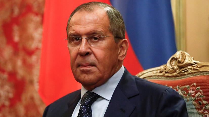 Лавров заявил, что Россия не будет ждать исключения из Совета Европы