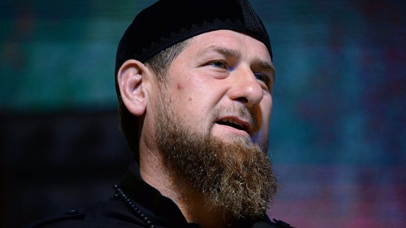 Кадыров обратился к российскому бойцу Тухугову