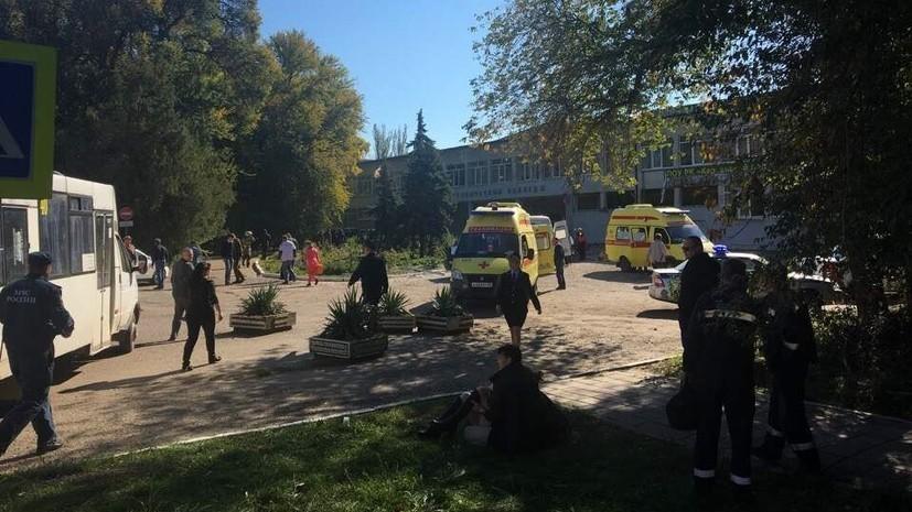 Студентка рассказала подробности произошедшего в колледже в Керчи