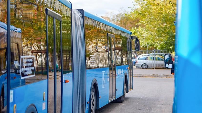 В Москве автобусы-полуэкспрессы перевозят около миллиона пассажиров в неделю