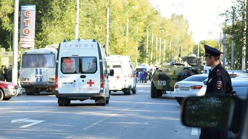 Минздрав: 37 человек находятся в стационарах после трагедии в Керчи