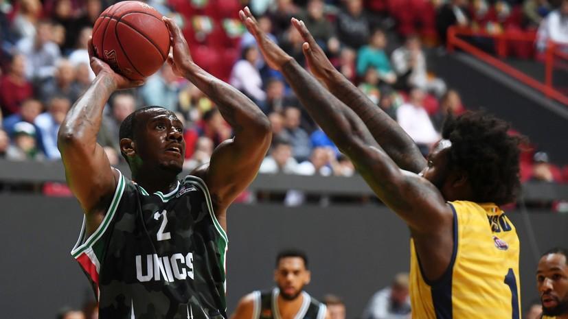 УНИКС обыграл «Торино» в матче баскетбольного Еврокубка