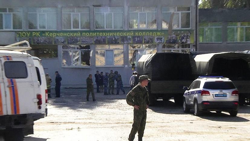 Аксёнов: керченский убийца не вызывал подозрений