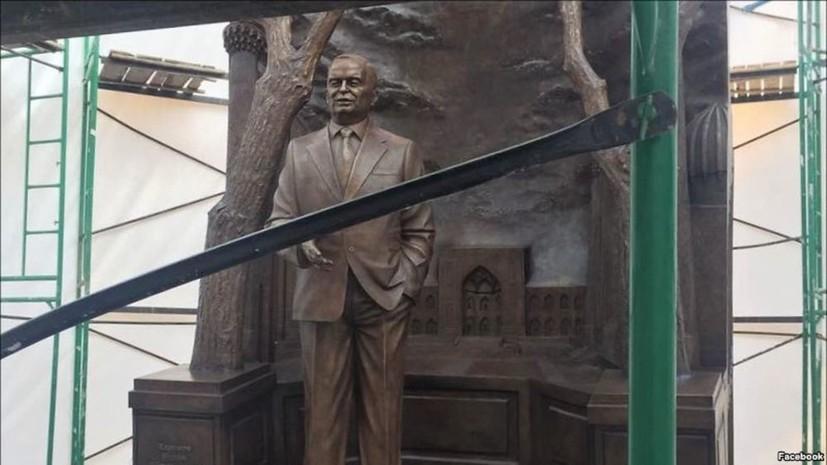 В центре Москвы установили памятник первому президенту Узбекистана