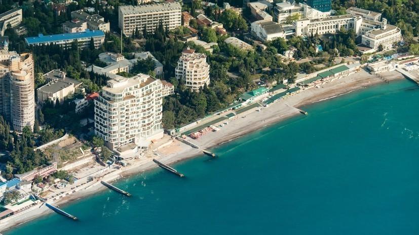 Ростуризм прогнозирует рекордный турпоток в Крым в 2018 году