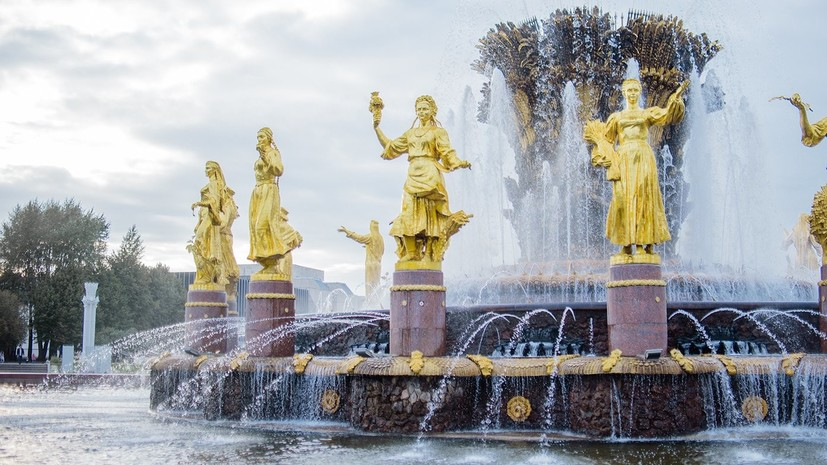 Фонтаны «Дружба народов» и «Каменный цветок» отремонтируют к весне в Москве