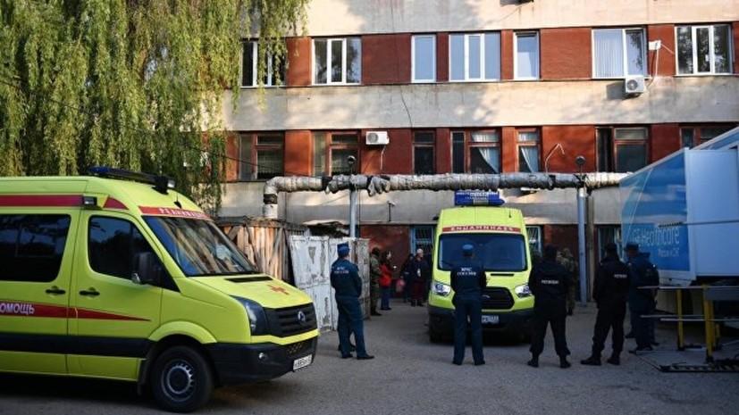 Мать одной из пострадавших в Керчи рассказала о состоянии дочери