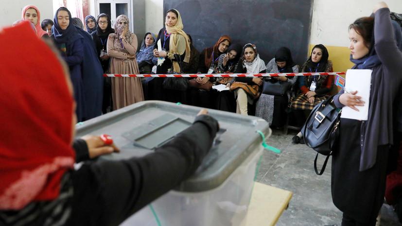 В МВД Кабула уточнили данные о взрывах на избирательных участках