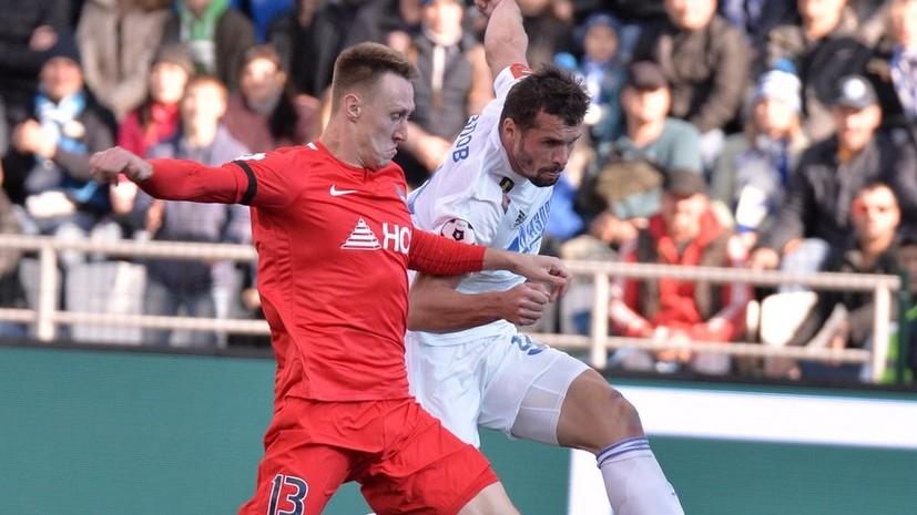 «Оренбург» и «Енисей» сыграли вничью в матче РПЛ