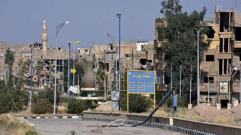 СМИ: В результате ударов коалиции США в Дейр эз-Зоре погибли 62 мирных жителя