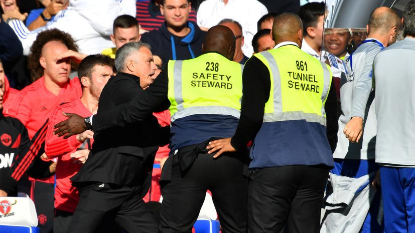 Эмоции Моуринью, сенсационное поражение «Реала» и травма Черышева: главные события субботы в европейском футболе