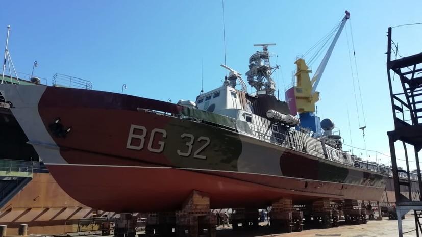 Эксперт назвал «головной болью» для Украины сторожевой корабль «Донбасс»