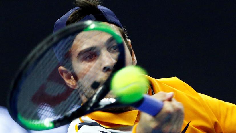 Хачанов стал победителем теннисного Кубка Кремля