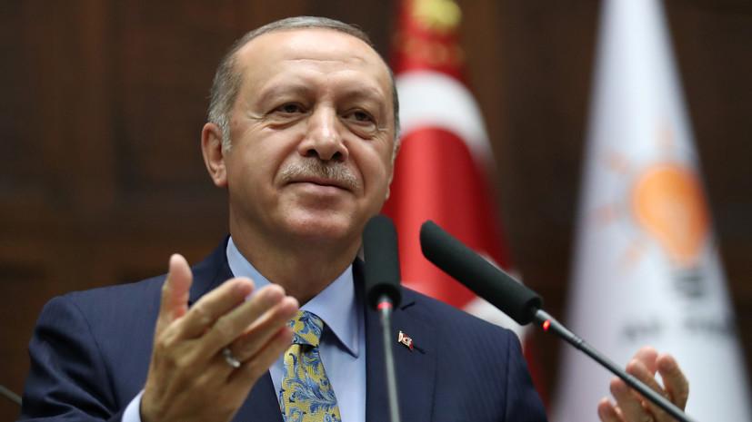 Эрдоган выступит с заявлением по делу Хашукджи