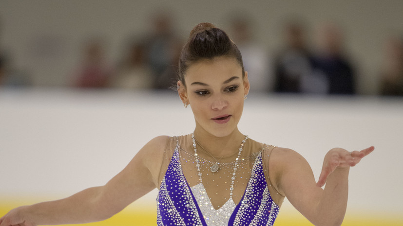 Фигуристка Самодурова заняла третье место на этапе Гран-при в США