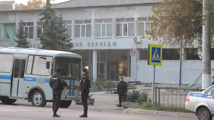 В оперативном штабе рассказали о состоянии пострадавших при ЧП в Керчи