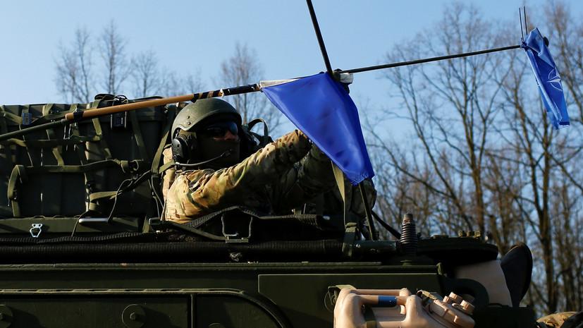 Германия потратит на учения НАТО €90 млн